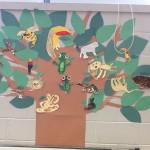A Great Kapok Tree created by Ms. Mutka's class