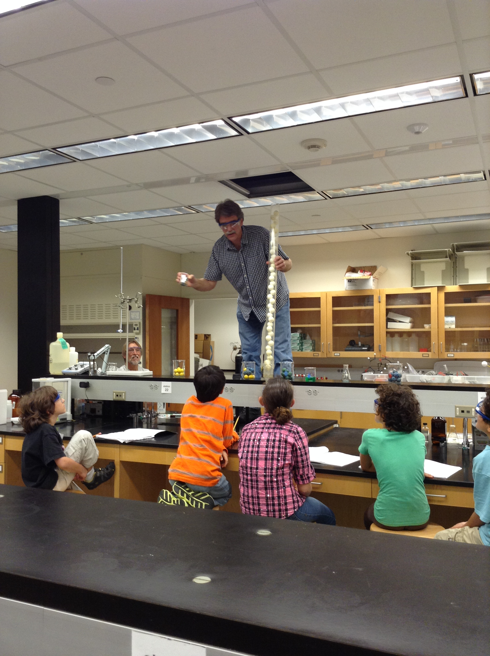 Science camp for 5th and 6th graders