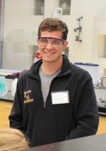 Greg Ferland '16, Mathematics major